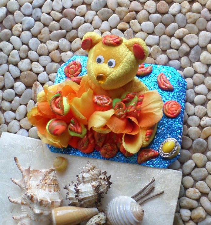 Sunshine bear greeting card